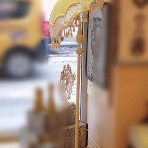 Lambader Şemsiye Şeklinde Abajur